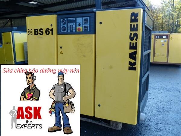 Dịch vụ sửa chữa bảo dưỡng máy nén khí Kaeser