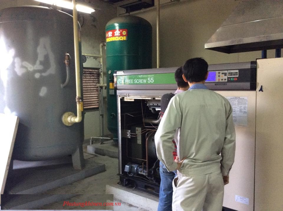 Sửa chữa, bảo dưỡng máy nén khí Hitachi