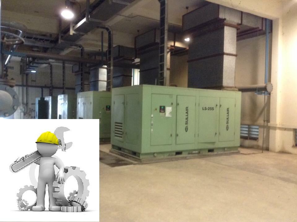 Sửa chữa- Bảo dưỡng máy nén khí Sullair