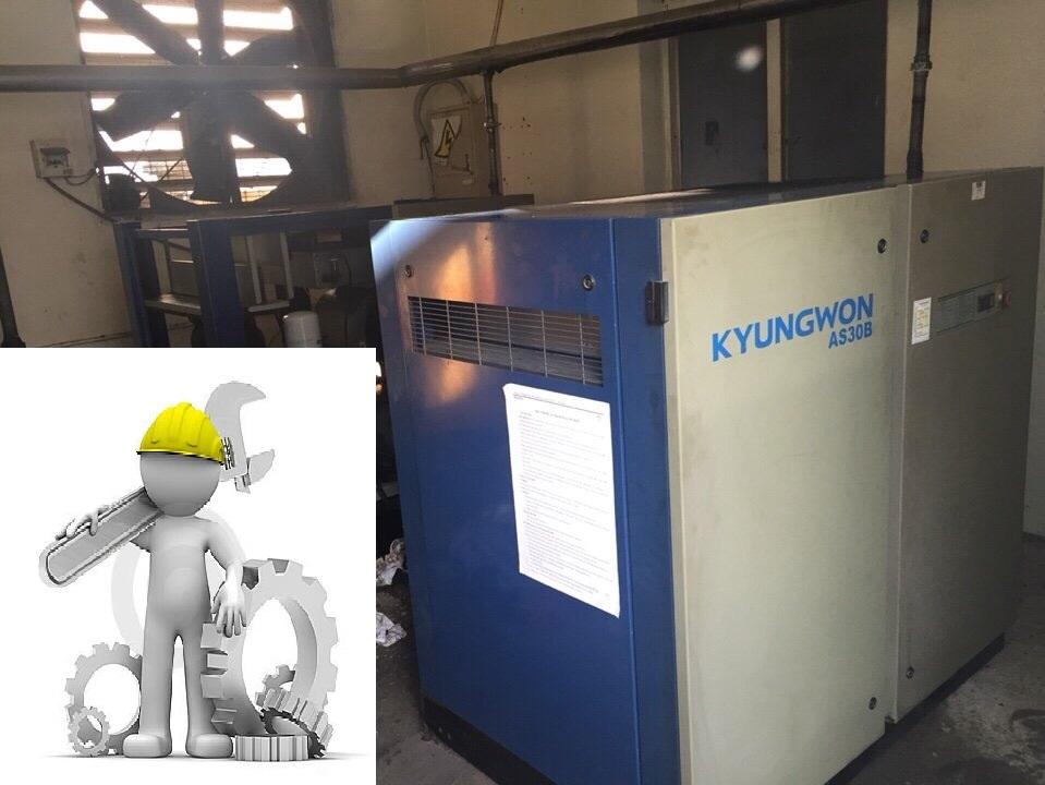 Sửa chữa- bảo dưỡng máy nén khí Kyungwon