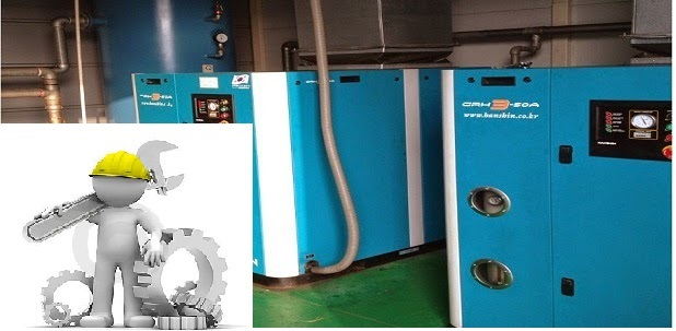 Bảo dưỡng- sửa chữa máy nén khí Hanshin