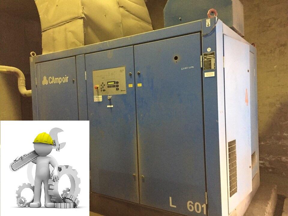 Sửa chữa- bảo dưỡng máy nén khí Compair
