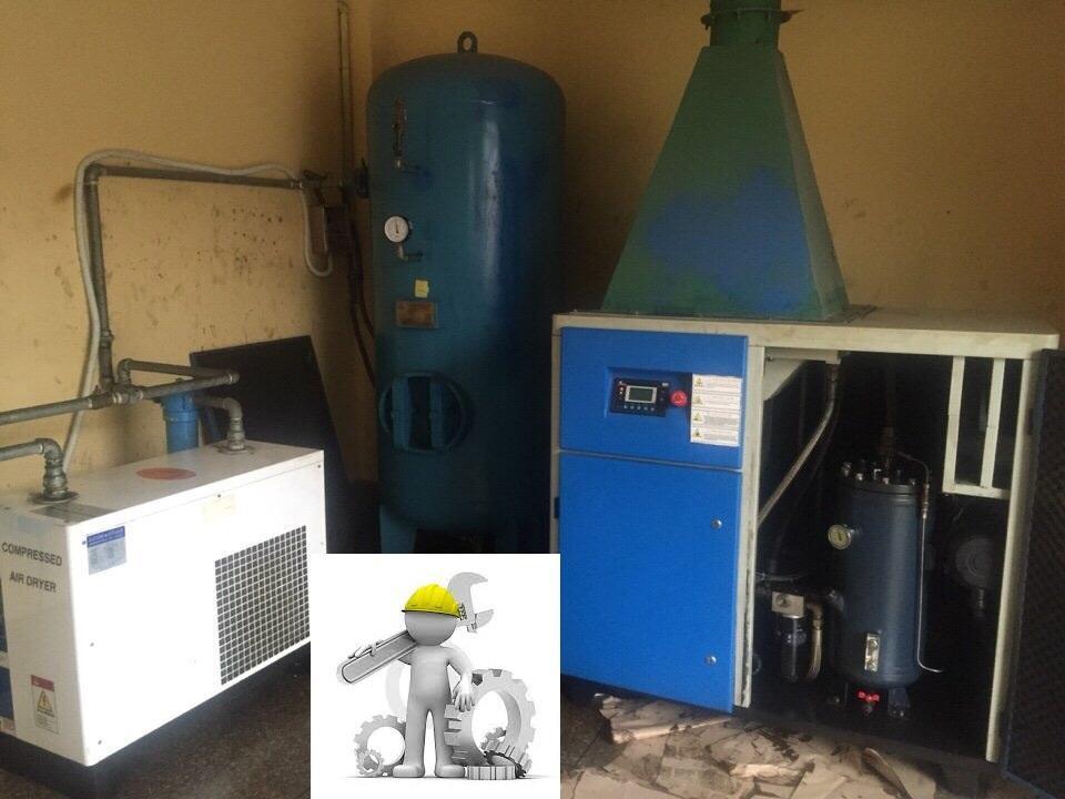 Sửa chữa- bảo dưỡng máy nén khí Buma