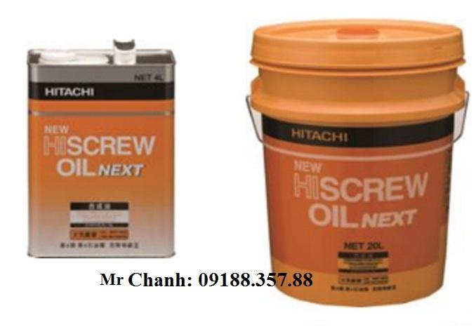 Dầu máy nén khí Hitachi/ Hitachi New HiScrew Oil Next