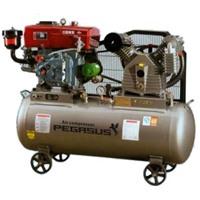Máy nén khí chạy bằng dầu Diesel TM-V-1.08-10HP-500L